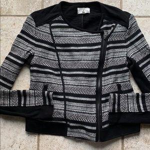 Lou & Grey knit Moto jacket
